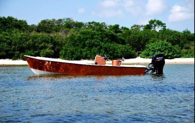 Bad Juju Charters Proline Flatback Boat