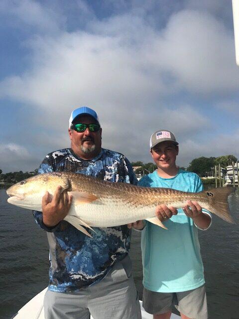 Family Fun on an Inshore Fishing Charter