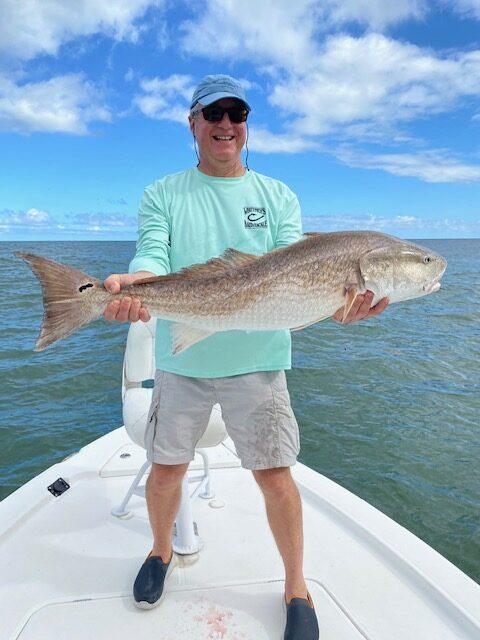 Ormond Beach Inshore Fishing Charter Redfish